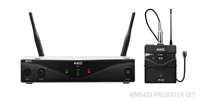 AKG WMS420 Presenter/U2