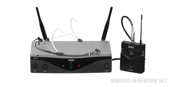 AKG WMS420 Headset/U2