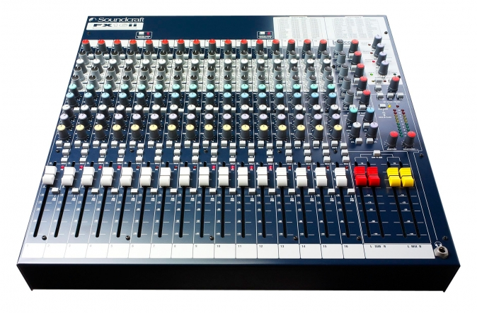Soundcraft SF FX16ii B Stock